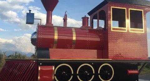 Tren Eléctrico Expresso Fantástico. Tren de Paseo Turístico ideal para negocio de transporte turístico.