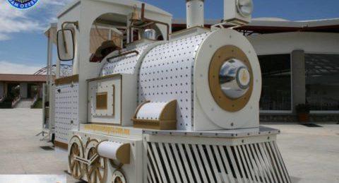 Tren Turisitico,  Tren eléctrico  Expresso Aventura Panoramico:  Tren Eléctrico  de Alta Gama, con tecnología de punta Ideal para paseos Turísticos y movilidad de visitantes.